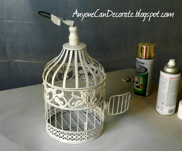 Anyone Can Decorate: How I DIY'd an Outdoor Chandelier