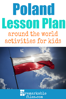 Planning the perfect Poland lesson plan for your students? Are you doing an around-the-world unit in your K-12 social studies classroom? Try these free and fun Poland activities, crafts, books, and free printables for teachers and educators! #poland #polish #kids #students #aroundtheworld #lessonplan
