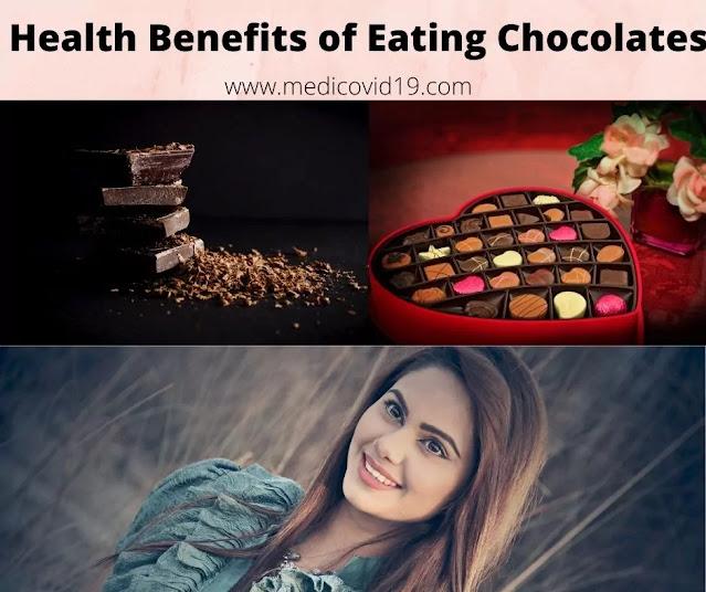 Health Benefits of eating dark chocolates