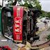 Minibus Guling di Lok Ma Chau, 6 Penumpang Terluka