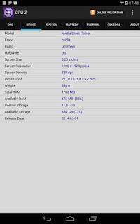 Aplikasi CPU-Z Adalah Software Untuk Membedakan Smartphone Android Palsu Atau Tidak