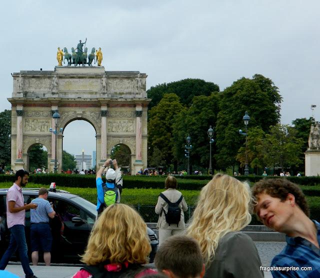 Arco do Triunfo do Louvre, Paris