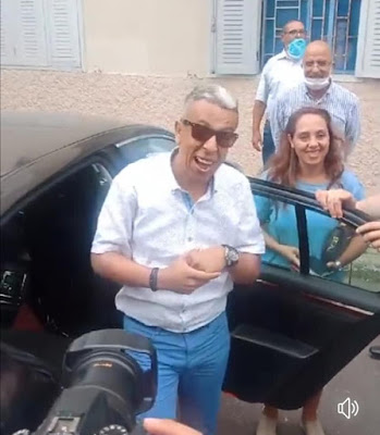 بالصور...لحظة إطلاق سراح الصحافي حميد المهداوي من سجن تيفلت✍️👇👇👇