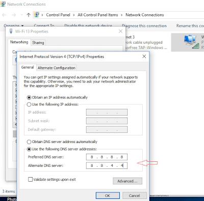 Windows 10 Jika Tidak Dapat Terhubung ke Update Service Issue