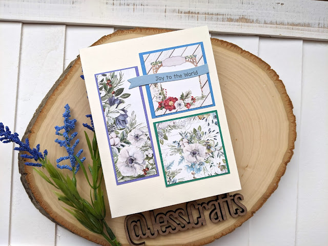 Cards with P13 Four Seasons Winter 6x6 Paper Pad by Jess Crafts