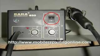 hot air rework station vs heat gun