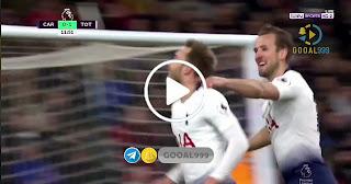أهداف مباراة : كارديف سيتي 0 – 3 توتنهام. 01/01/2019 الدوري الانجليزي