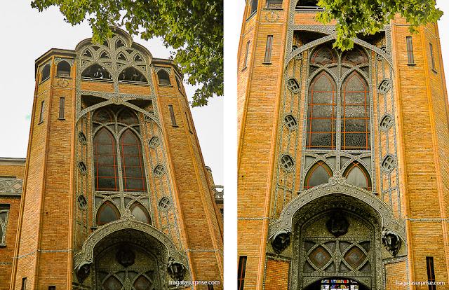 Art Noveau em Montmartre: Igreja de Saint-Jean de Montmartre