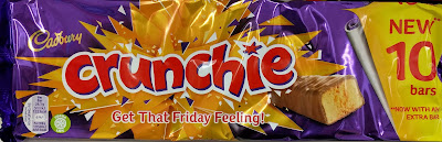 Cadbury crunchie 10 pack