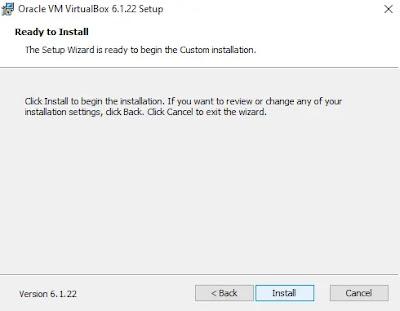 Semi Final Install Virtualbox