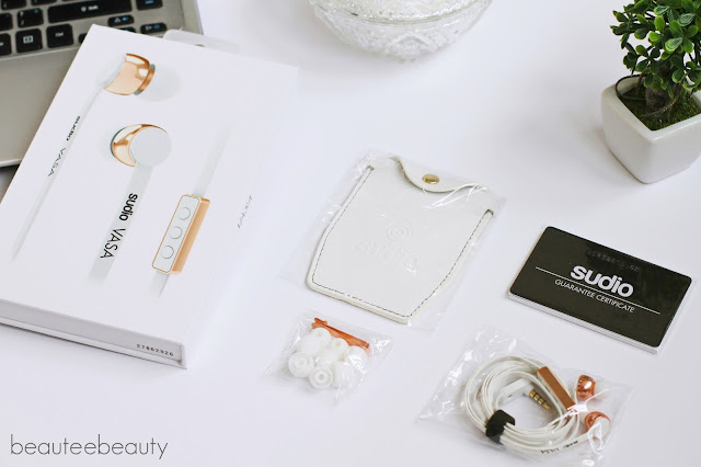 Sudio White VASA Earphones Review
