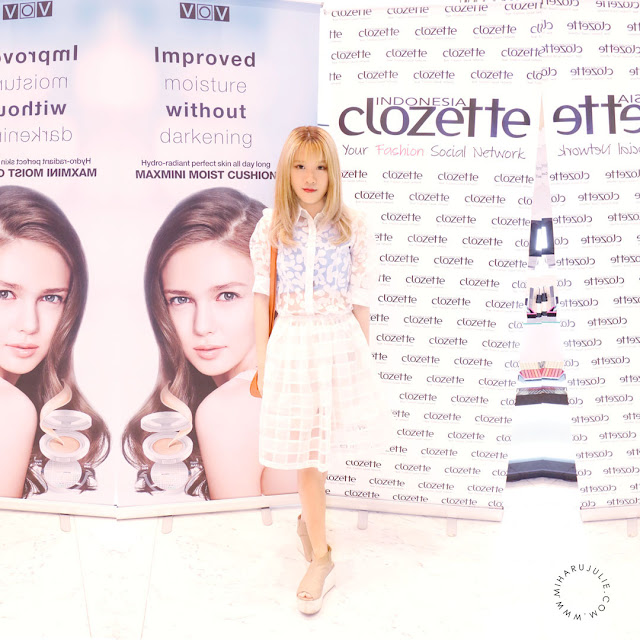 Event VOV MaxMini Cushion x Clozette