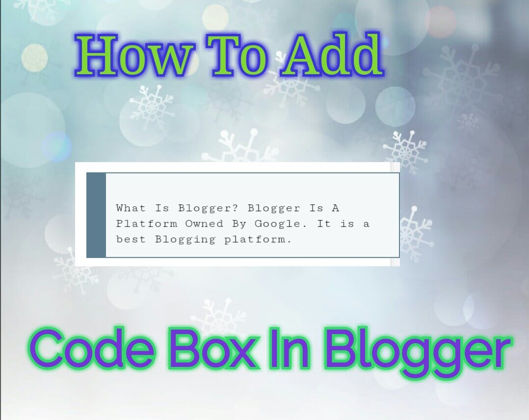 add-code-box-in-blogger