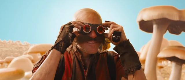Dr.  Robotnik Eggman Sonic the Hedgehog movie 2020 mushroom world planet game universe self looks