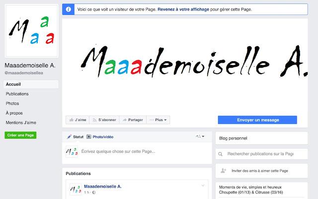 || Facebook (#CoulissesDuBlog)