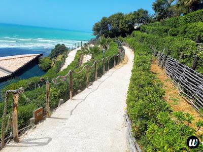 Stairs to Scala dei Turchi beach, Agrigento | Sicily, Italy | wayamaya
