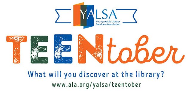 YALSA teen tober what will you discover at the library?
