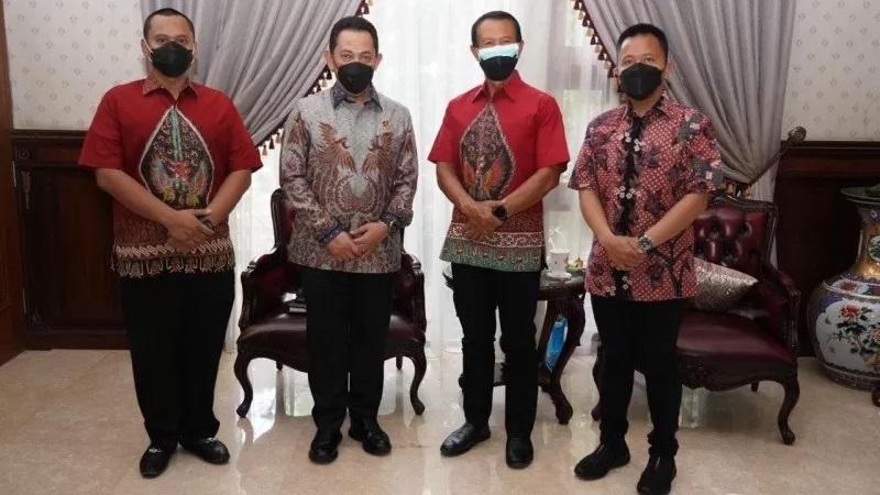Komjen Listyo Sigit Prabowo Silaturahmi ke Beberapa Mantan Kapolri Minta Doa Restu