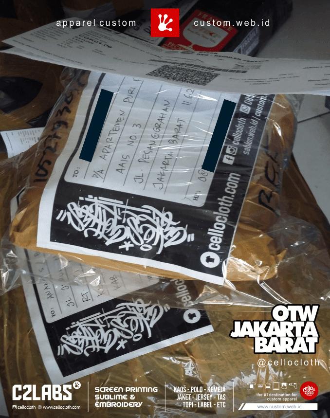 Kirim Paket ke Jakarta Barat from Jogja - CellosHipCC