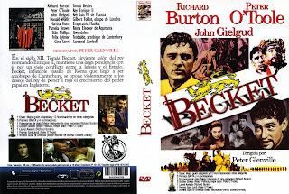 Carátula dvd: Becket (1964)