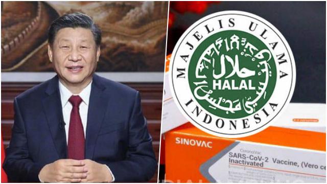 China Manfaatkan Sertifikat Halal MUI untuk Memasarkan Vaksin ke Negara-Negara Islam