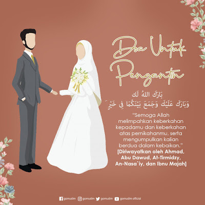 Doa khusus untuk pengantin baru