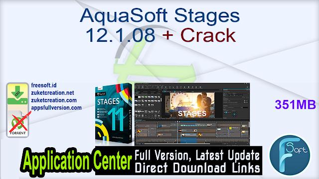 AquaSoft Stages 12.1.08 + Crack