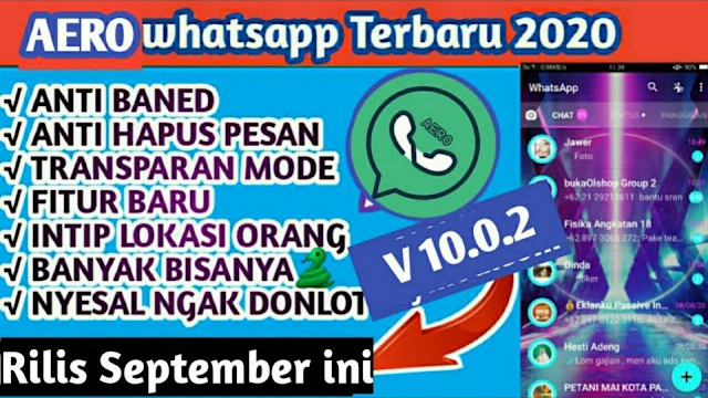 Download Aero WhatsApp Apk