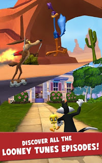 Looney Tunes Dash! Apk v1.80.10 Mod (Free Shopping/Invincible)