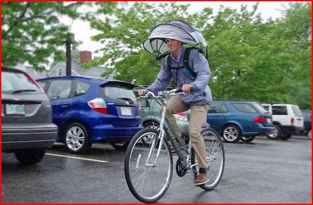 Cycling With Nubrella