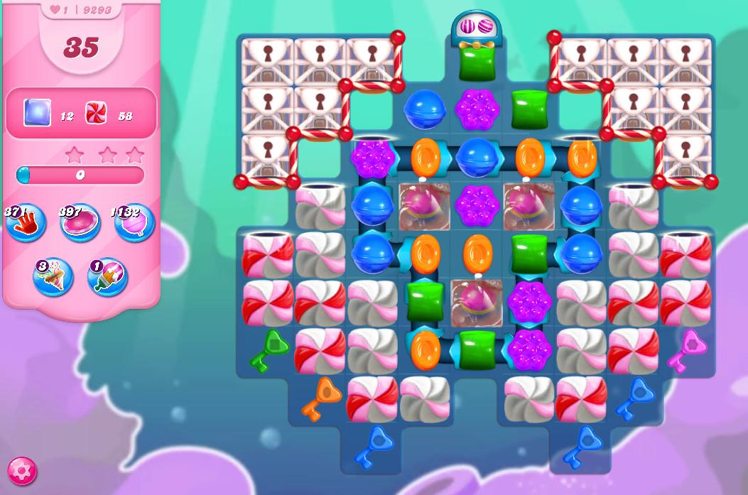 Candy Crush Saga level 9293
