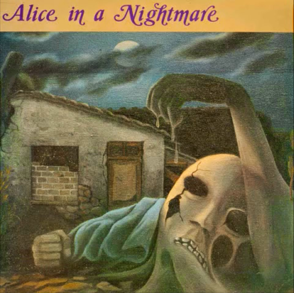 ALICE IN A NIGHMARE (1988) front