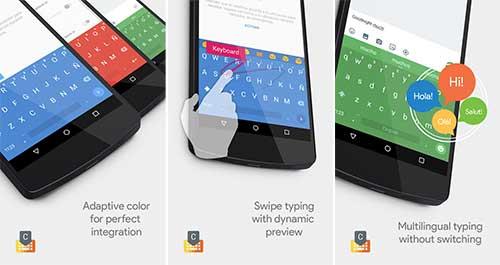 أفضل 3 تطبيقات لوحات مفاتيح للكتابه فى الأندرويد