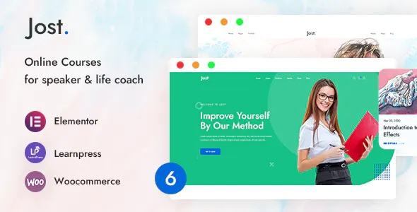 Best Coaching & Online Course WordPress Theme