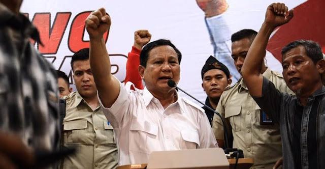 Gaji Prabowo Akan Disumbang ke Yayasan Kanker dan Zakat Yang Membutuhkan