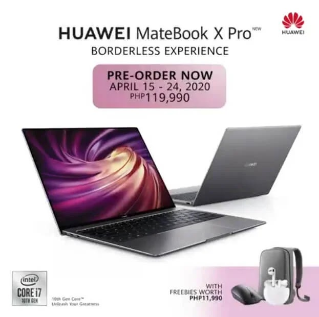 Huawei MateBook X Pro Pre-Order Philippines