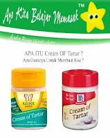 Apa Itu Cream Of Tartar