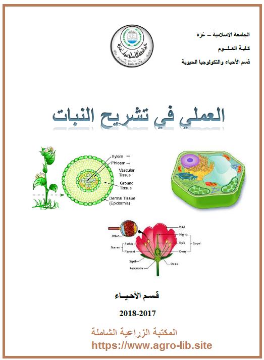 كتاب : الدليل العملي في تشريح النبات