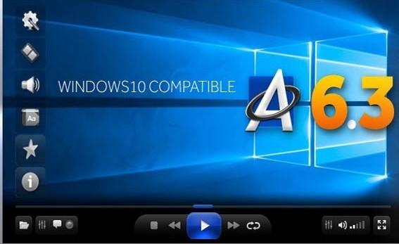 تحميل مشغل جميع صيغ الفيديو للكمبيوتر ALLPlayer برابط مباشر مجاناً للكمبيوتر