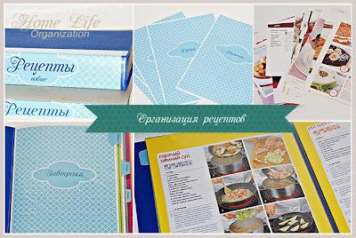 Как хранить рецепты