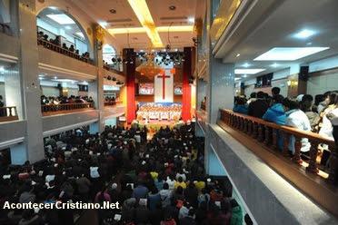 Iglesia cristiana en China