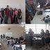 Estudantes do curso téc. em eletrônica do IFPB/PICUÍ divulgam curso para estudantes do ensino médio.