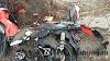 Tertabrak Mobil, Sepeda Motor Hancur Berantakan Dan Pengendara Terpental 10 Meter (1)