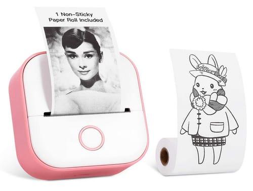 Memoking T02 Pocket Wireless Portable Thermal Printer