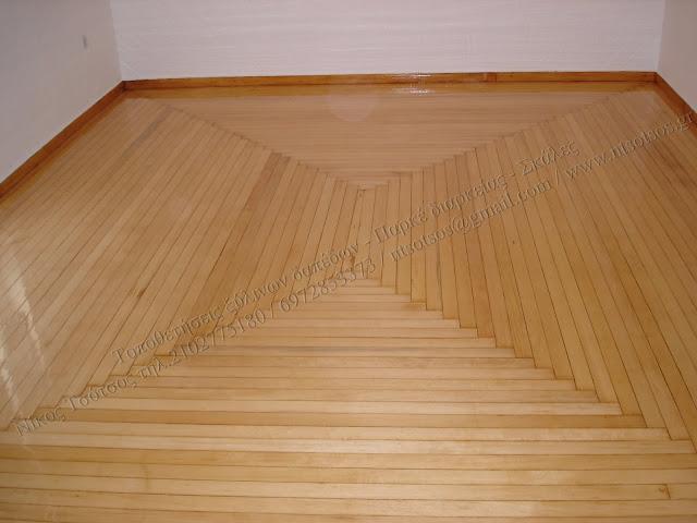Συντήρηση και λουστράρισμα σε ξύλινα πατώματα σαλίγκαρος
