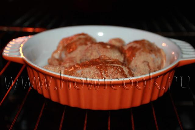 рецепт куриных голеней в остром йогуртовом маринаде с пошаговыми фото