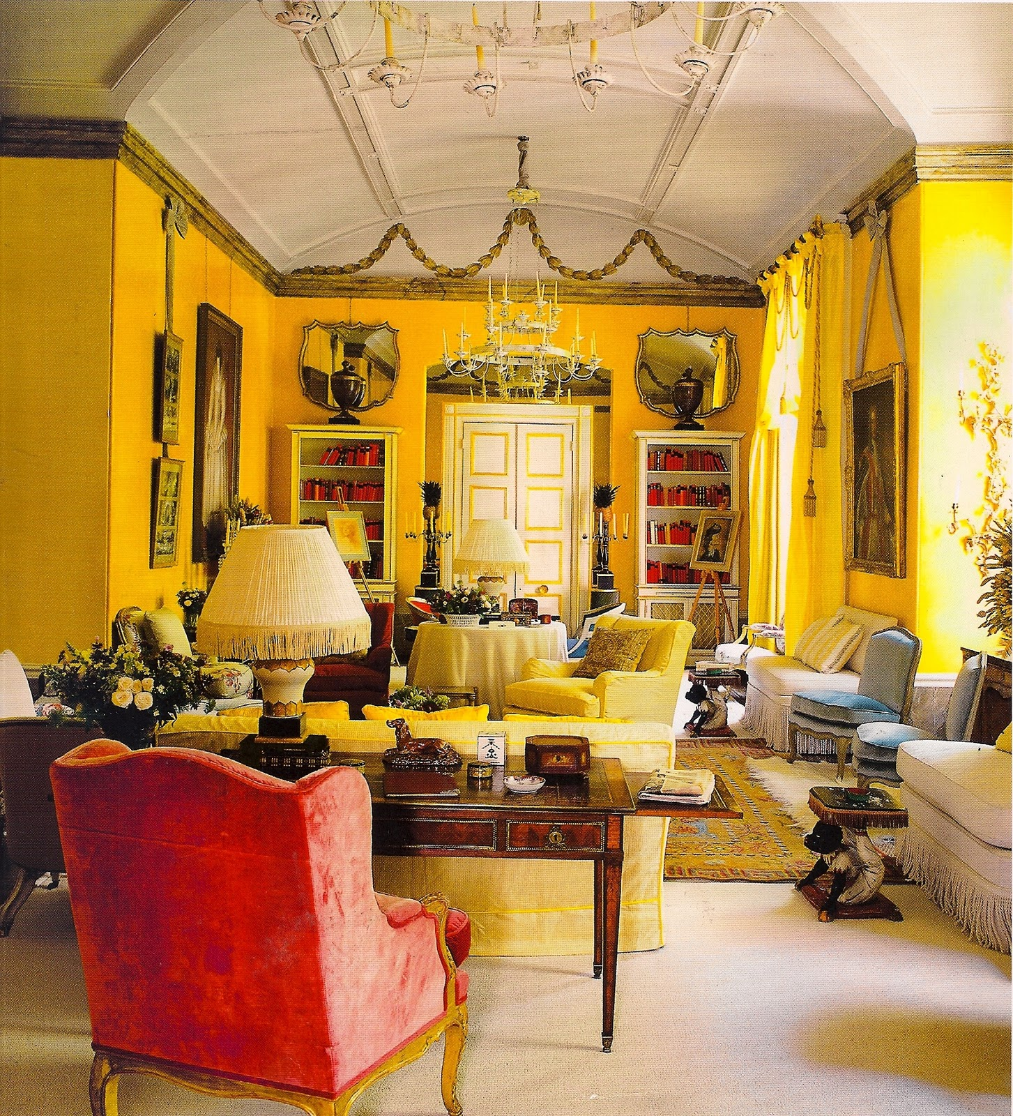 Yellow Room: Light Color Design: February 2011