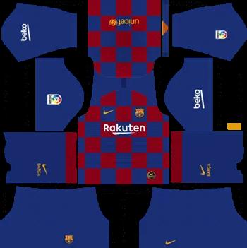 Download Kit DLS Barcelona Home 2019 - 2020