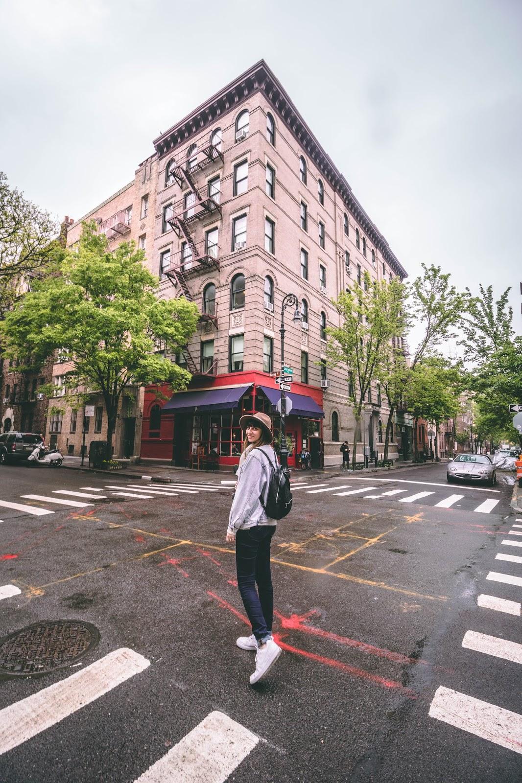 immeuble friends appartement New York