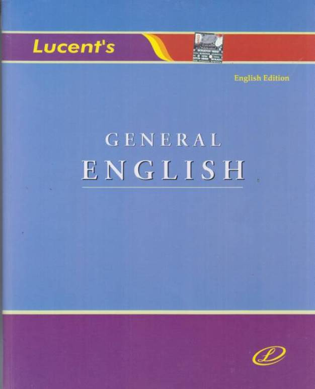 Lucent General English : For All Competitive Exam PDF Book